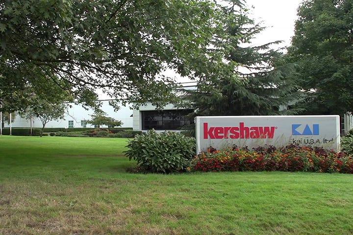 Kershaw Kai USA sign