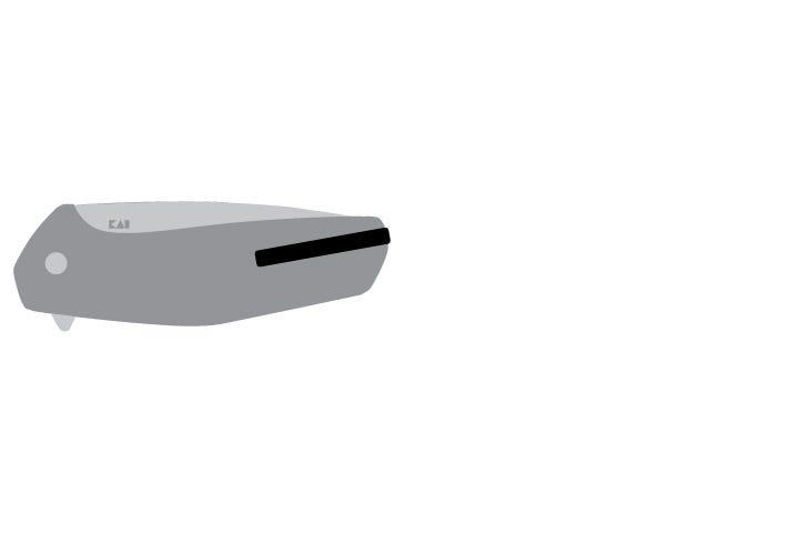 Single position pocketclip